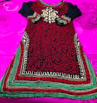 women's black and red dress Surrey, V4N 7C3