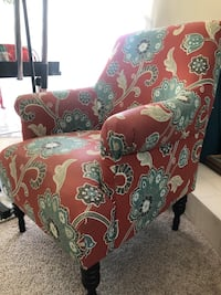 Floral arm chair Los Angeles, 91411