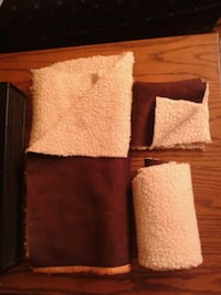 3 Pieces of Faux Suede/Sherpa Fabric Oshawa, L1J 4Z3