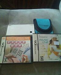 Dsi Mint condition .Case and 2 Games .Charger . London, N6B 1N2