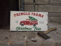 Christmas tree sign Hillsdale, L0L 1V0