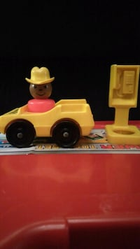 Fisher-Price Cowboy, Car, and Phone Booth  Philadelphia, 19148
