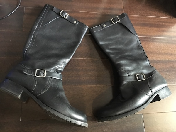 Ralph Lauren Genuine Leather Boots Size 9