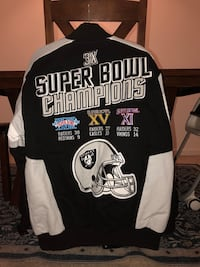 Oakland Raiders Super Bowl Jacket Warrenton