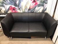 Modern black leather couch  Moorpark, 93021