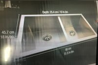 Brand New Sealed PROFESSIONAL  Stainless Steel Kitchen Sink Calgary, T2T 0L3