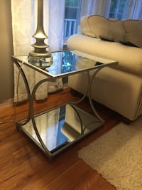Mirrored end tables brand new $75 each Coram, 11727
