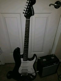 Fender Starcaster electric guitar with amp San Lorenzo, 94580