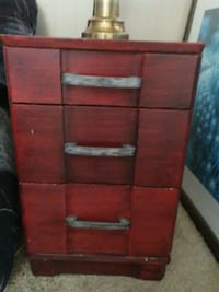 brown wooden 3-drawer chest Tucson, 85705
