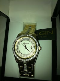 Elgin new $225 watch with tag need new battery