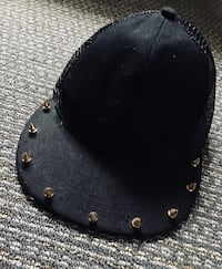 BRAND NEW • 10 GOLD Tone SPIKES Cap