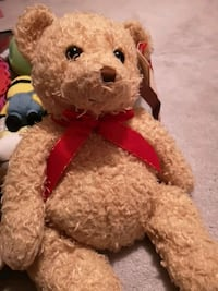brown bear plush toy with red hat Toronto, M3A