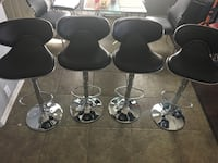 Brand new set of 4 black and chrome bar stools  San Antonio, 78255