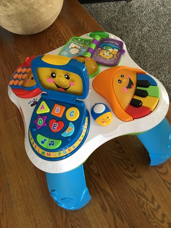 EUC Fisher Price Laugh & Learn W/Friends Musical Activity Ctr