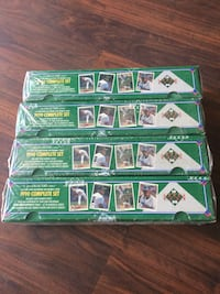 SEALED Upper deck 1990 complete boxed set baseball cards