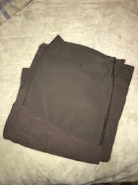 Brown Cargo Maternity Pants Size Medium