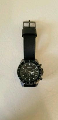 Fossil chronicle watch with leather strap Macomb, 48044
