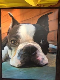 """Dog Pictures Ready to hang 9"""""""