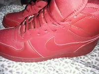 pair of red Nike Air Force 1 high Toledo, 43613