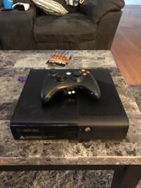 black Xbox 360 console with controller Los Angeles, 91303