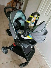 baby's black and gray stroller Brampton
