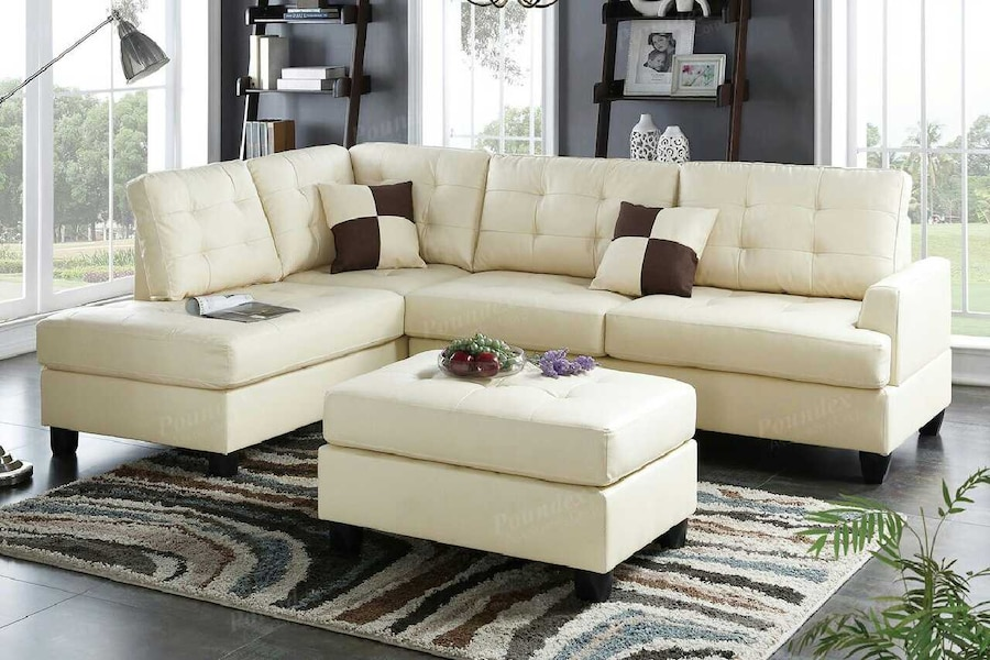 Letgo sectional with ottoman in auburndale fl for Outdoor furniture hwy 7