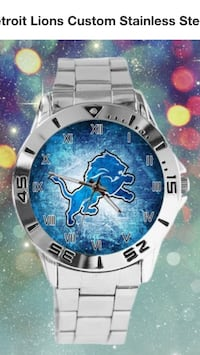 Detroit Lions Quartz Watch  Livonia