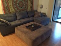 Couch and ottoman set for sale Arlington, 22203