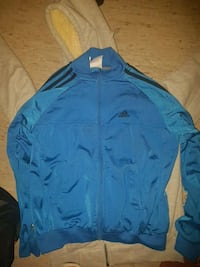 blå Adidas zip-up jakke SMALL SIZE  Oslo, 0572