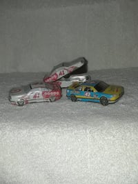 red and black RC car