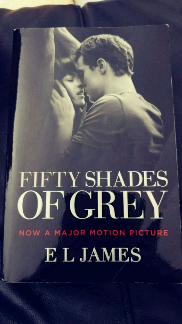 Fifty Shades if Grey book