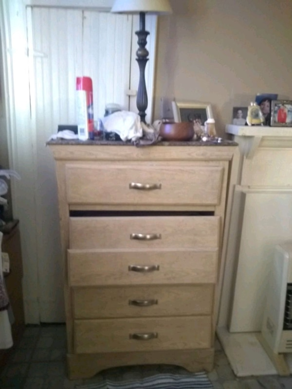 Used Dresser With Marble Top For