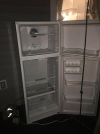 black single-door refrigerator Mission, V2V 6P7