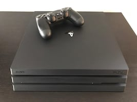 PS4 Pro Console in mint condition