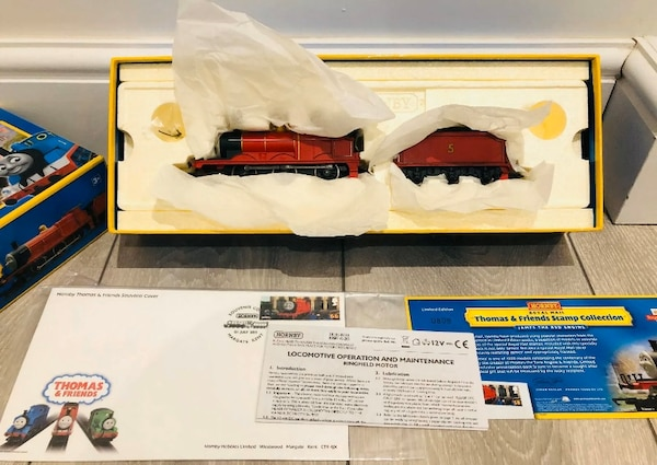 Hornby R9687 Thomas & Friends 'James The Red Engine Stamp Collection 652d8646-5486-4568-bc14-f834d69e6590