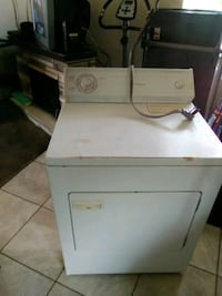 white front-load clothes dryer Sacramento, 95820