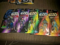 Five Star Wars action figures Maple Ridge, V4R 1K7