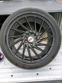 17in 5lug Rims & tires  5x114.3 or 5x4.5