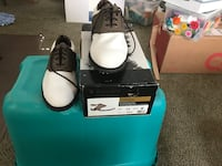 pair of black-and-white sneakers Odessa, 79761