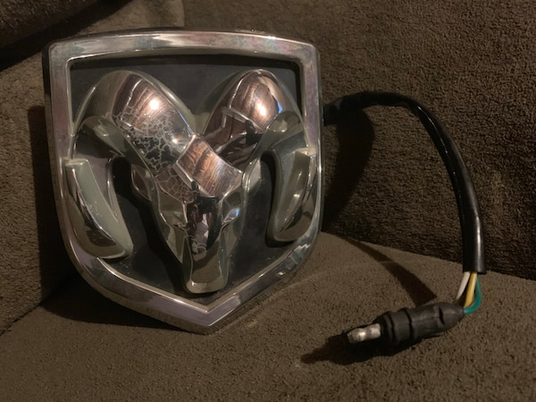 Dodge Ram Lighted Hitch Cover