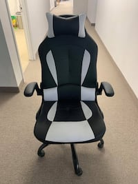 Brand New Black And White Office Chair