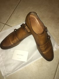 Used Gucci Double-Monk Strap Size 10 Parkland, 33076