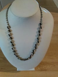 Black and Clear Rhinestone Choker Necklace Orlando, 32826