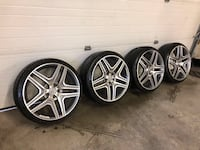 20' MERCEDES BENZ AMG RIMS WHEELS Methuen, 01844