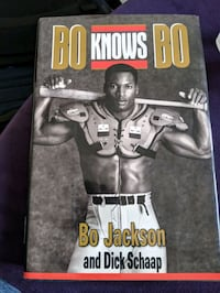 Bo knows Bo autographed book Kitchener, N2E 0B9