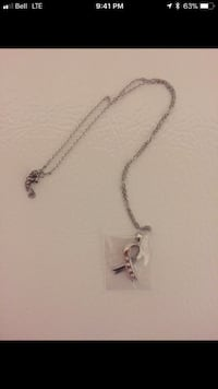 silver chain necklace with heart pendant Sudbury, P3A 5Y4