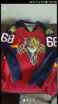 Florida Panthers Hockey Jersey Sunrise, 33322