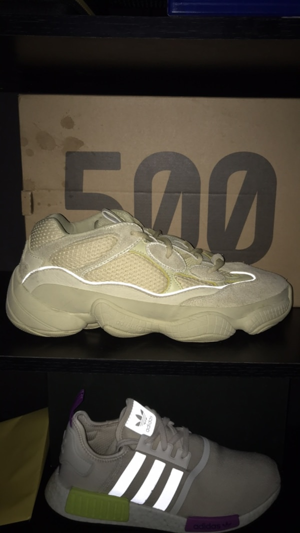 sports shoes 0924a b02c7 Yellow Moon Yeezy 500