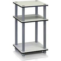 Furinno 11087 Just 3-Tier No-Tools Tube End Table