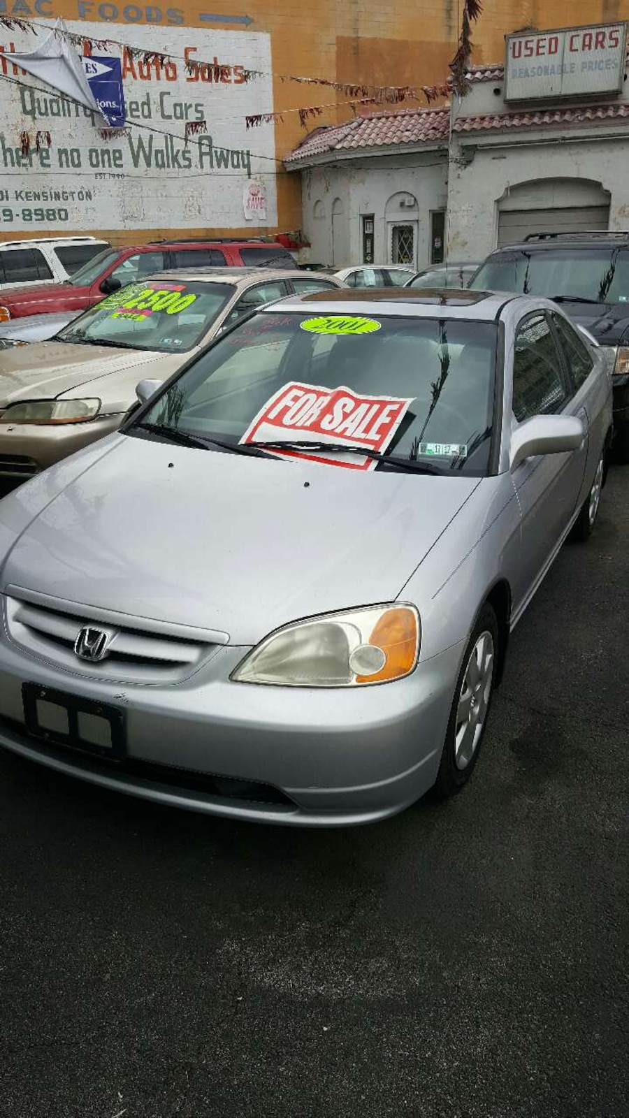 Used 2001 silver honda accord phone number hidden is for Honda 800 number
